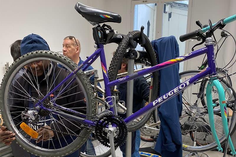 Photo de maintenance de cycles