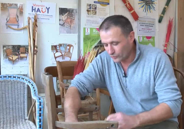Didier Marchand responsable d'atelier au CDTD Frère Francès témoigne!