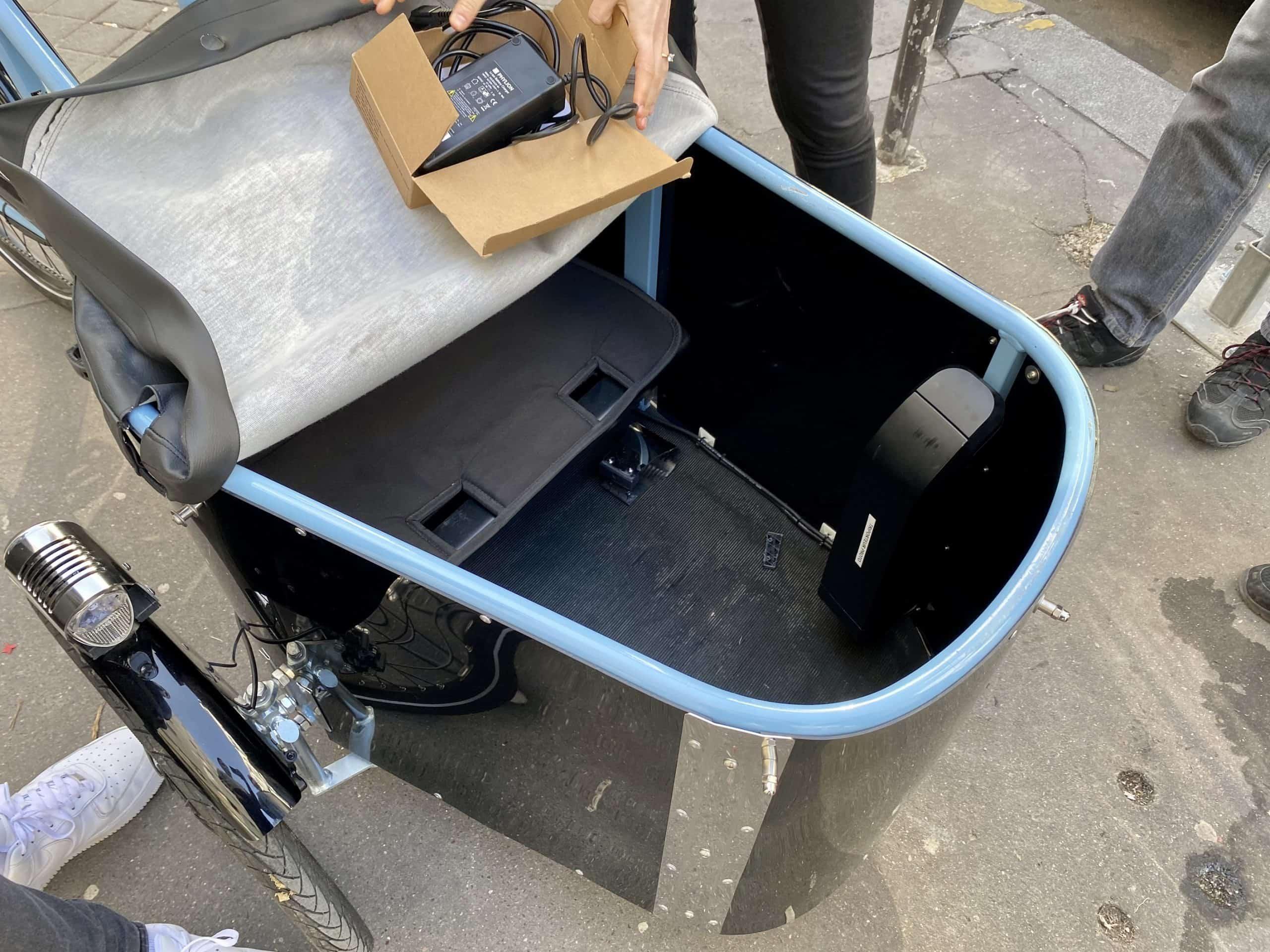 Photo Véligo Cargo caisse