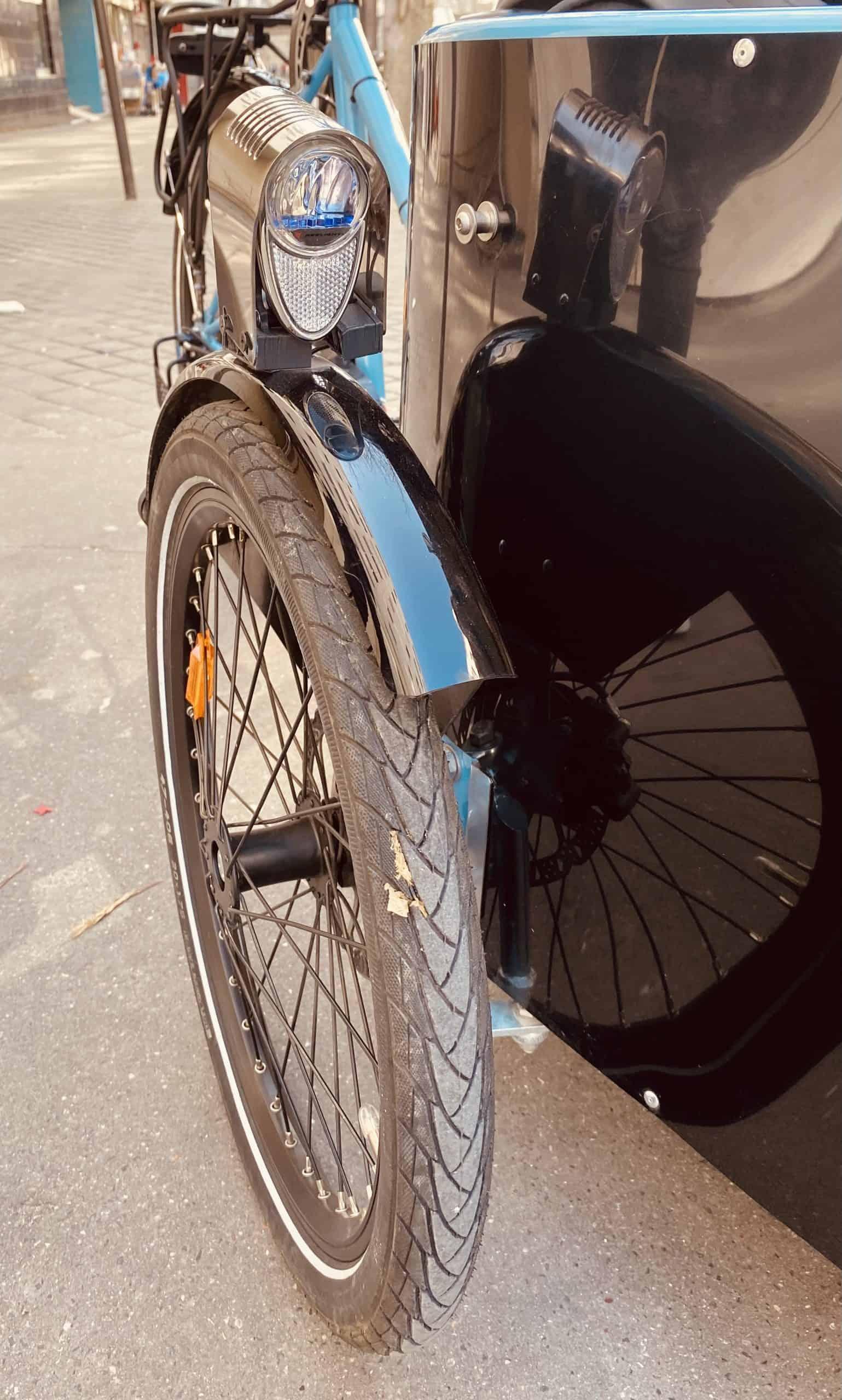 Photo roue Veligo Cargo