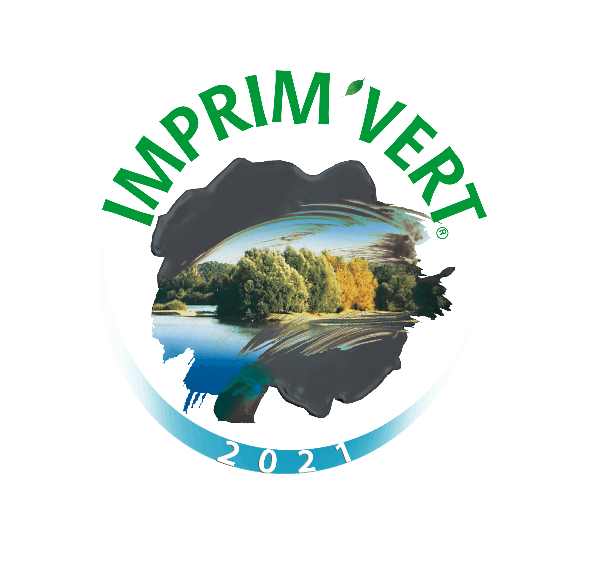 Logo Label Imprim'Vert Millesime2021